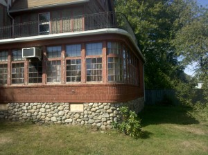 Sun Porch to be partially demolished