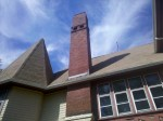 Chimney to be rebuilt