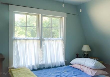 Windows in bedroom