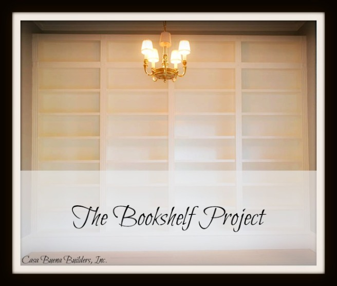 Bookshelf project - cover