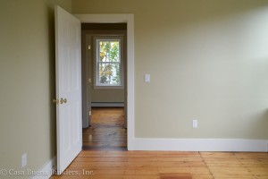 Wide Baseboards Original Floors